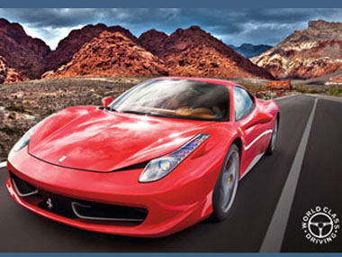 World Class Driving Exotic Car Experience At Red Rock Canyon