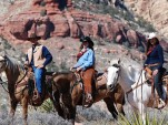 Wild West Horseback Ride and Sunset BBQ